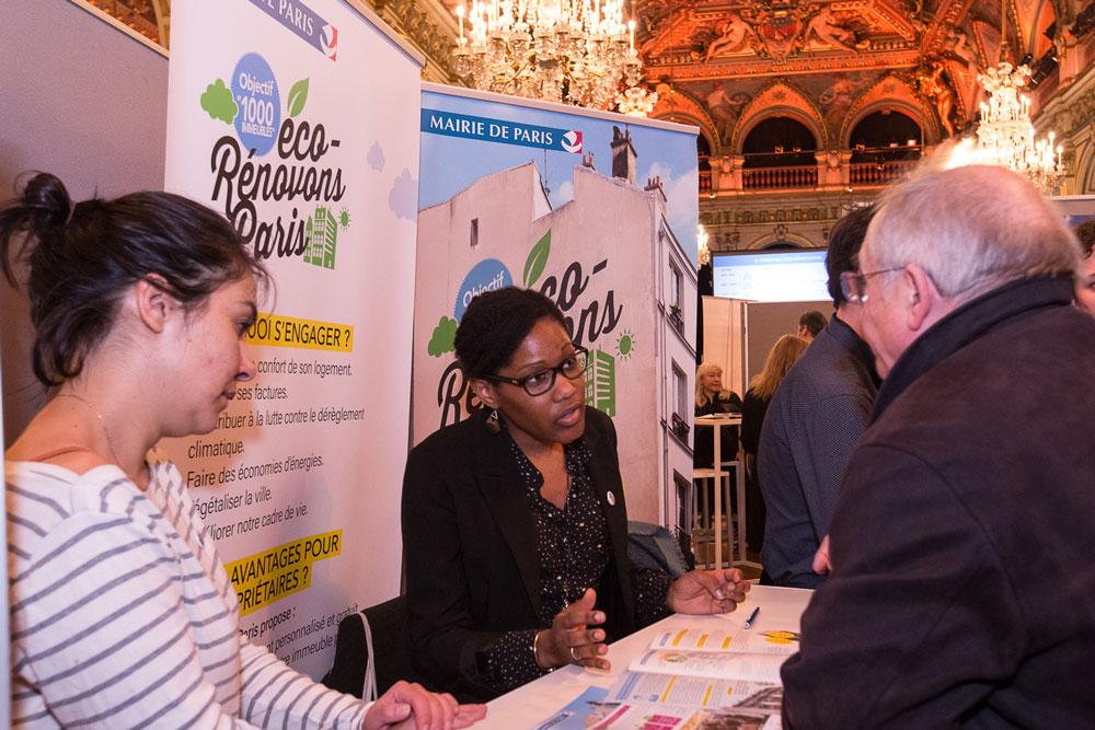 Eco-rénovons Paris était le sujet phare du Forum 2018