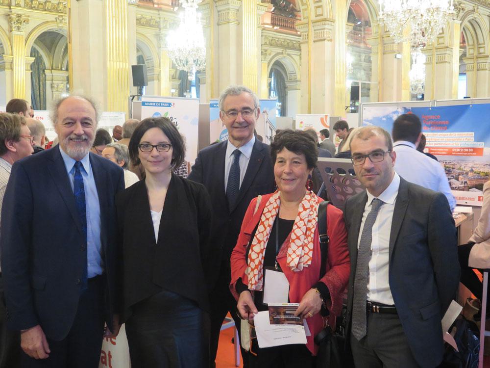 Étaient présents : Yves Contassot, Célia Blauel, Philippe Pelletier, Anne Girault et Michel Gioria