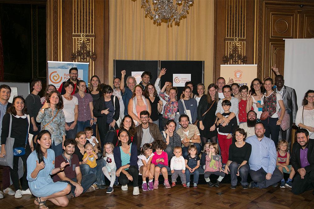 Les participants de la 1ère édition du  défi Familles Zéro Déchet